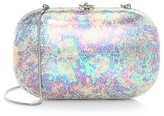 Thumbnail for your product : JEFFREY LEVINSON Elina Plus Iridescent Gloss Clutch
