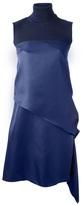 Salvatore Ferragamo roll neck dress