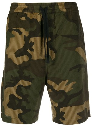 Carhartt Wip Camouflage Track Shorts