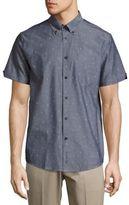Ben Sherman Ice-Cream Printed Cotton Shirt