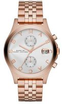 Marc by Marc Jacobs Slim Chrono Rose Goldtone Stainless Steel Chronograph Bracelet Watch