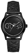 GUESS GUESS? Women's U96004L3 Leather Quartz Watch with Dial
