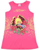 Ed Hardy Racer Tank Top for Girls