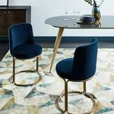 west elm Cora Velvet Dining Chair