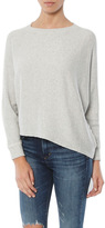 Monrow Asymmetric Dolman Sweater