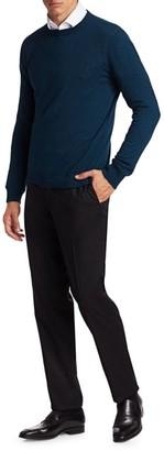 Loro Piana Skye Cashmere & Silk Crewneck Sweater