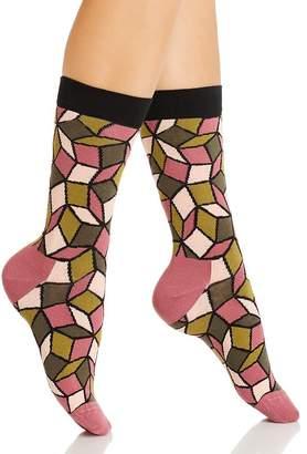 Happy Socks Printed Crew Socks