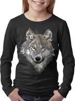 Kelmo Teenager Tee Kelmo Teenager Boy Girl Long Sleeve Tee Wild Wolf CasualTees XL