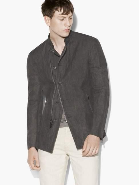 John Varvatos Asymmetric Jacket