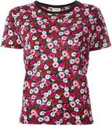 Saint Laurent floral print T-shirt