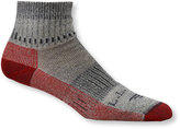 L.L. Bean Men's Cresta Hiking Socks, Wool-Blend Midweight Quarter Crew