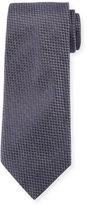 Giorgio Armani Solid Textured Silk Tie