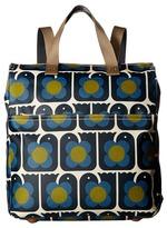 Orla Kiely Love Birds Print Backpack Backpack Bags