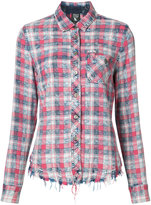 PRPS checked shirt - women - Cotton/Rayon - XS