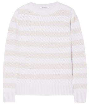 Max Mara Ulisse Striped Cashmere Sweater