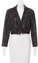 Carolina Herrera Tweed Cropped Blazer