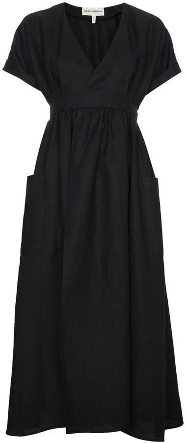 Mara Hoffman Ingrid Wrap Midi Dress