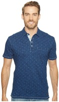 True Grit Genuine Knit w/ Anchors Polo Men's Short Sleeve Knit