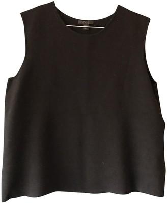 Cos Black Wool Top for Women