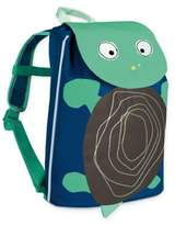 Lassig Mini Duffle Turtle Backpack in Wildlife Blue