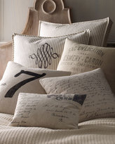 French Laundry Home LUCKY NUMBER 7 PILLOW