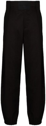 Salvatore Ferragamo Side-Panel Tapered Trousers
