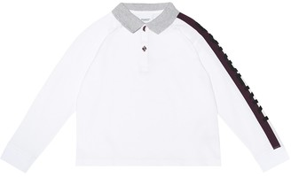 BURBERRY KIDS Duncan printed cotton shirt