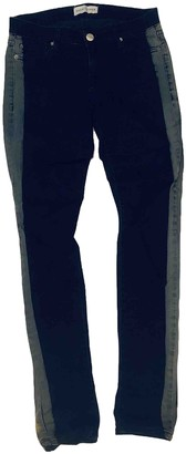 Each X Other Each X Navy Cotton - elasthane Jeans for Women