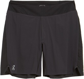 On Lightweight Perforated Running Shorts