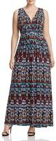 Tart Collections Plus Chloe Ikat Print Maxi Dress