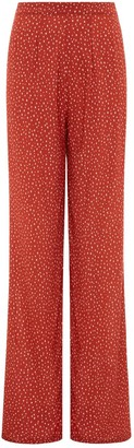 Holiday Romance High Waisted Trousers - Pebble