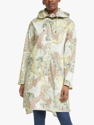 Ilse Jacobsen Hornbk Printed Raincoat, Milk Creme