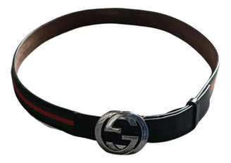 Gucci Interlocking Buckle Other Leather Belts