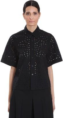 Ami Alexandre Mattiussi Shirt In Black Cotton