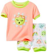 Petit Lem Sunny Sunshine Pajama - 2-Piece Set (Baby Girls)