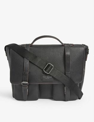 Ted Baker Pebbled leather satchel bag