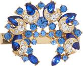 Riviera Blue Gem Broach Salon Clip