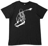 Micro Me Black Skateboard Skeleton Tee - Infant Toddler & Boys