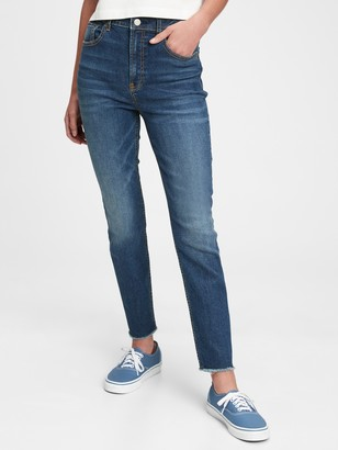 Gap Teen Recycled Sky High Rise Skinny Ankle Jeans with Max Stretch