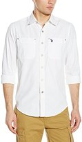 U.S. Polo Assn. Men's Long Sleeve Denim Sport Shirt