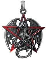 Summit Gothic Pentagram Star Dragon Pendant Necklace Jewelry Accessory