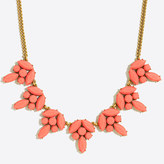 J.Crew Factory Triple opaque gemstone necklace