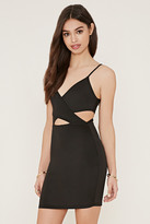 Forever 21 FOREVER 21+ Cutout Mini Bodycon Dress