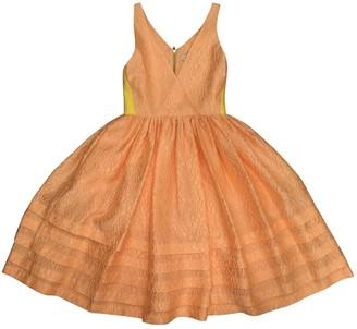 Jonathan Saunders Orange Polyester Dresses