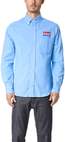 Gitman Brothers Long Sleeve Heavenly Blue Flannel Shirt