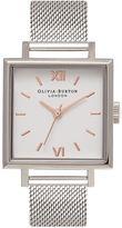 Olivia Burton **Big Square Dial Watch