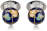 Jan Leslie Men's Spinning-Globe Cufflinks