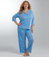 Karen Neuburger Dynasty Knit Pajama Set Plus Size - Women's