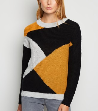 New Look JDY Colour Block Jumper