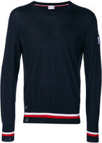 Moncler Gamme Bleu striped trim sweater